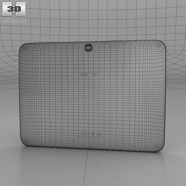 Samsung Galaxy Tab 3 101 Inch Garnet Red 3D Model