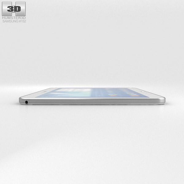 Samsung Galaxy Tab 3 101 Inch White 3D Model
