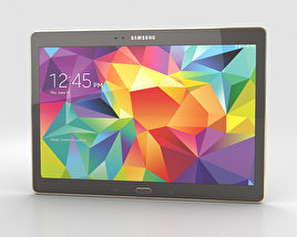 Samsung Galaxy Tab S 10.5-inch Titanium Bronze 3D model