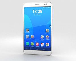 Huawei MediaPad X1 Snow White 3D model