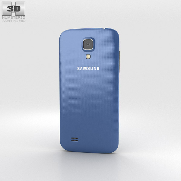 Samsung Galaxy S4 Mini Blue 3d model