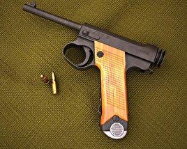 Nambu Type 14 3D model