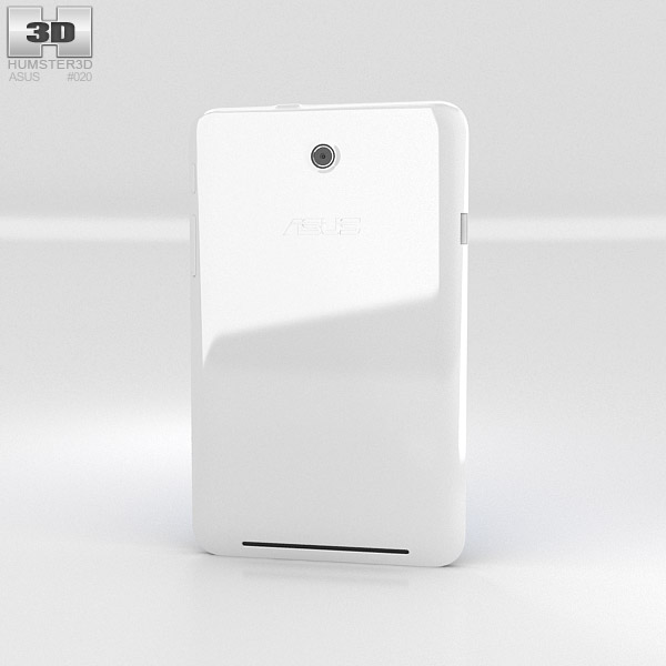 Asus MeMO Pad HD 7 White 3d model