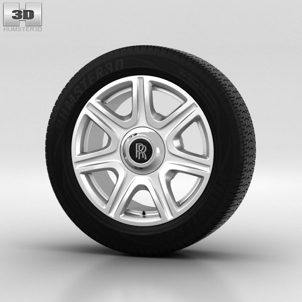 Rolls-Royce Phantom Wheel 21 inch 003 3d model