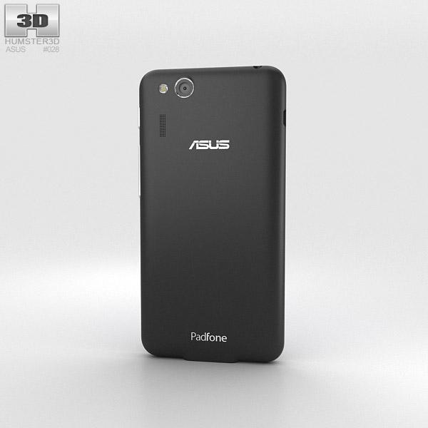 Asus PadFone Mini 4.3-inch Titanium Black 3d model