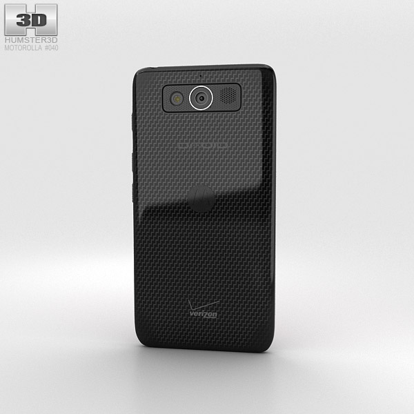 Motorola Droid Mini Black 3d model