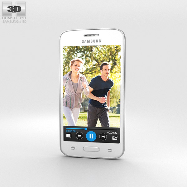 Samsung Galaxy Core Mini White 3d model