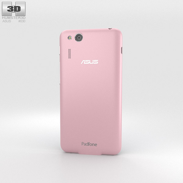 Asus PadFone Mini 4.3-inch Soft Pink 3d model