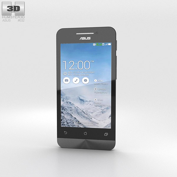 Asus Zenfone 4 Pearl White 3d model