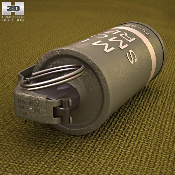 AN M18 3d model