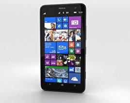 Nokia Lumia 1320 Black 3D model