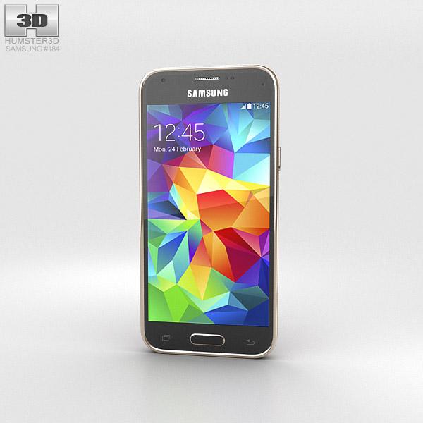 Samsung Galaxy S5 mini Copper Gold 3d model
