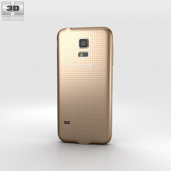 Samsung Galaxy S5 mini Copper Gold 3d model