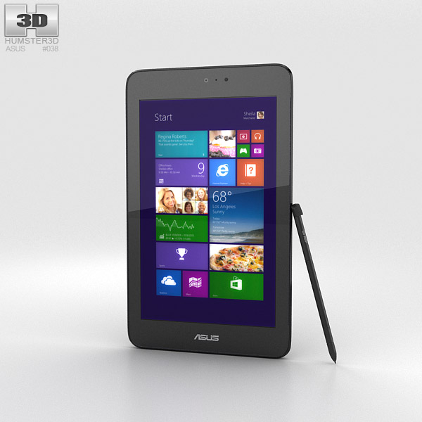 Asus VivoTab Note 8 Black 3d model