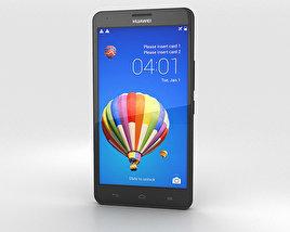 Huawei Honor 3X G750 Black 3D model