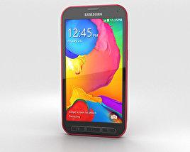 Samsung Galaxy S5 Sport Cherry Red 3D model