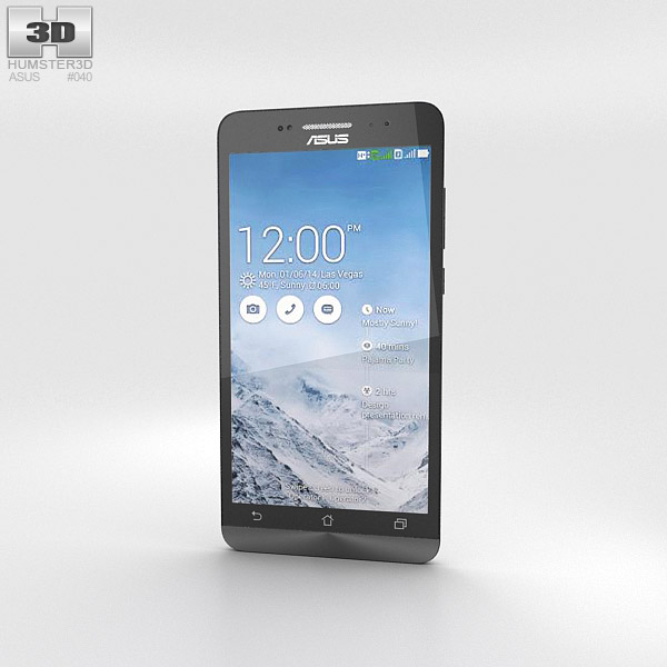 Asus Zenfone 6 Pearl White 3d model