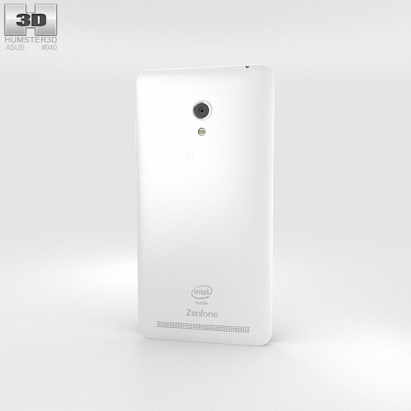 Asus Zenfone 6 Pearl White 3d model