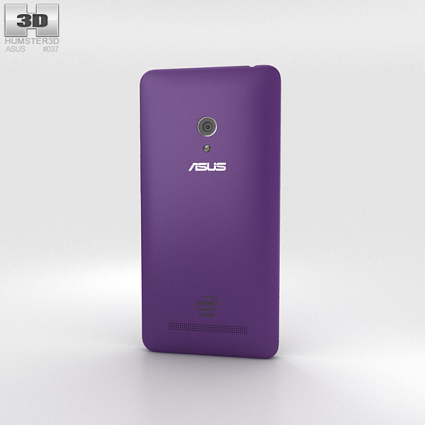 Asus Zenfone 5 Twilight Purple 3d model