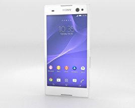 Sony Xperia C3 White 3D model