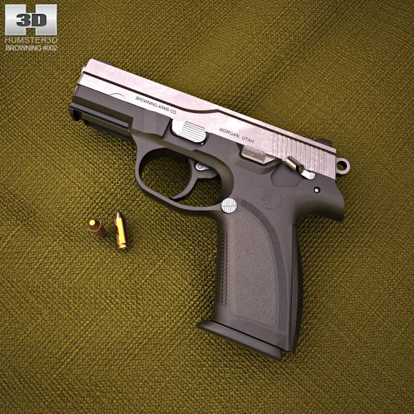 Browning PRO-9 3d model