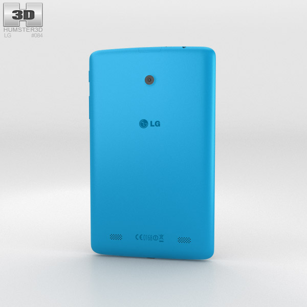 LG G Pad 7.0 Luminous Blue 3d model