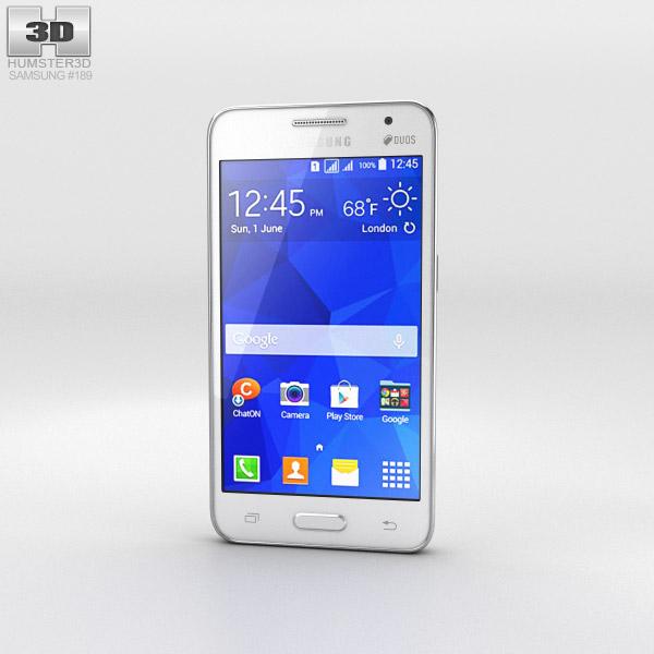 Samsung Galaxy Core II White 3d model