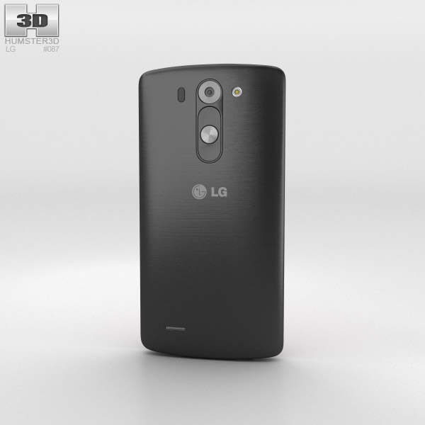 LG G3 S Metallic Black 3d model