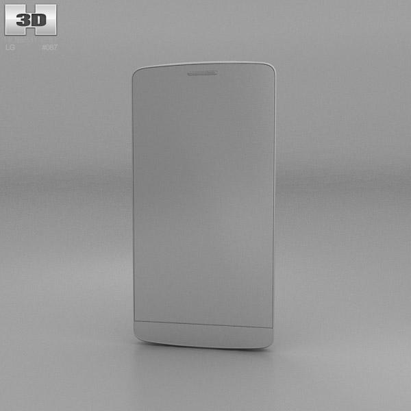 LG G3 S Metallic Black 3D model - Hum3D