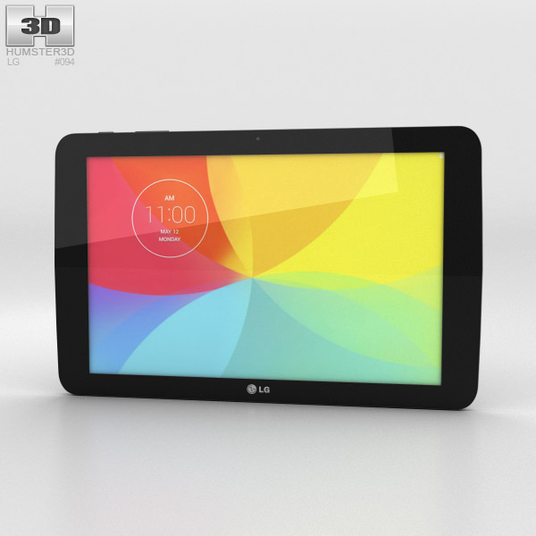 LG G Pad 10.1 Black 3d model