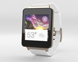 LG G Watch White Gold 3D model