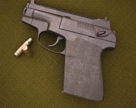 PSS Silent Pistol 3D model