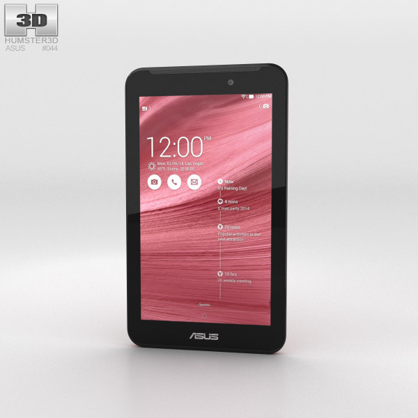 Asus Fonepad 7 (FE170CG) Red 3d model