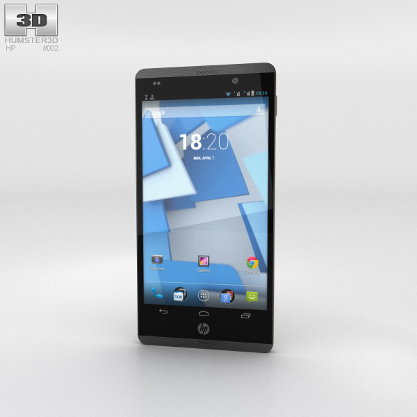 HP Slate 6 VoiceTab 3d model