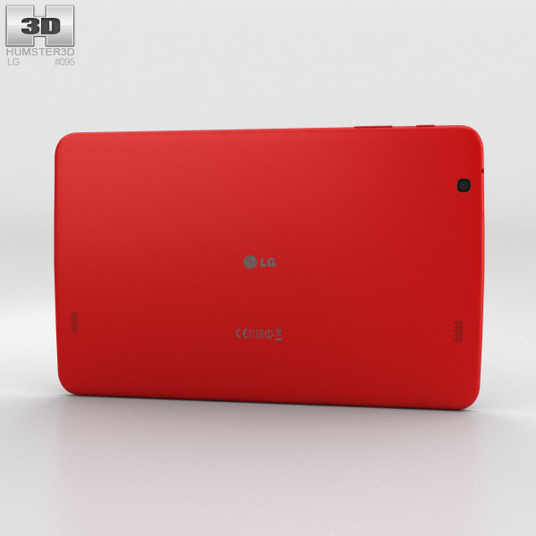 LG G Pad 10.1 Red 3d model