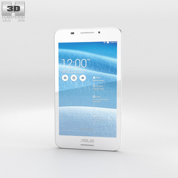 Asus Fonepad 7 (FE375CG) White 3d model