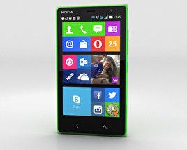 Nokia X2 Glossy Green 3D model