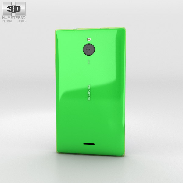 Nokia X2 Glossy Green 3d model
