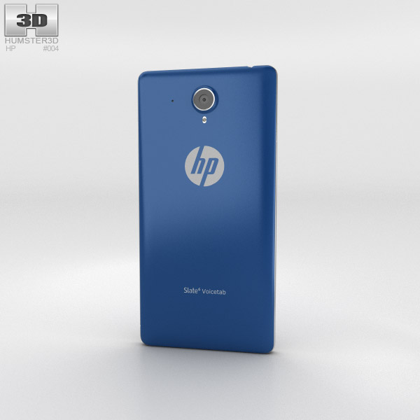 HP Slate 6 VoiceTab Marine Blue 3d model