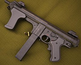 Beretta PM12S 3D model