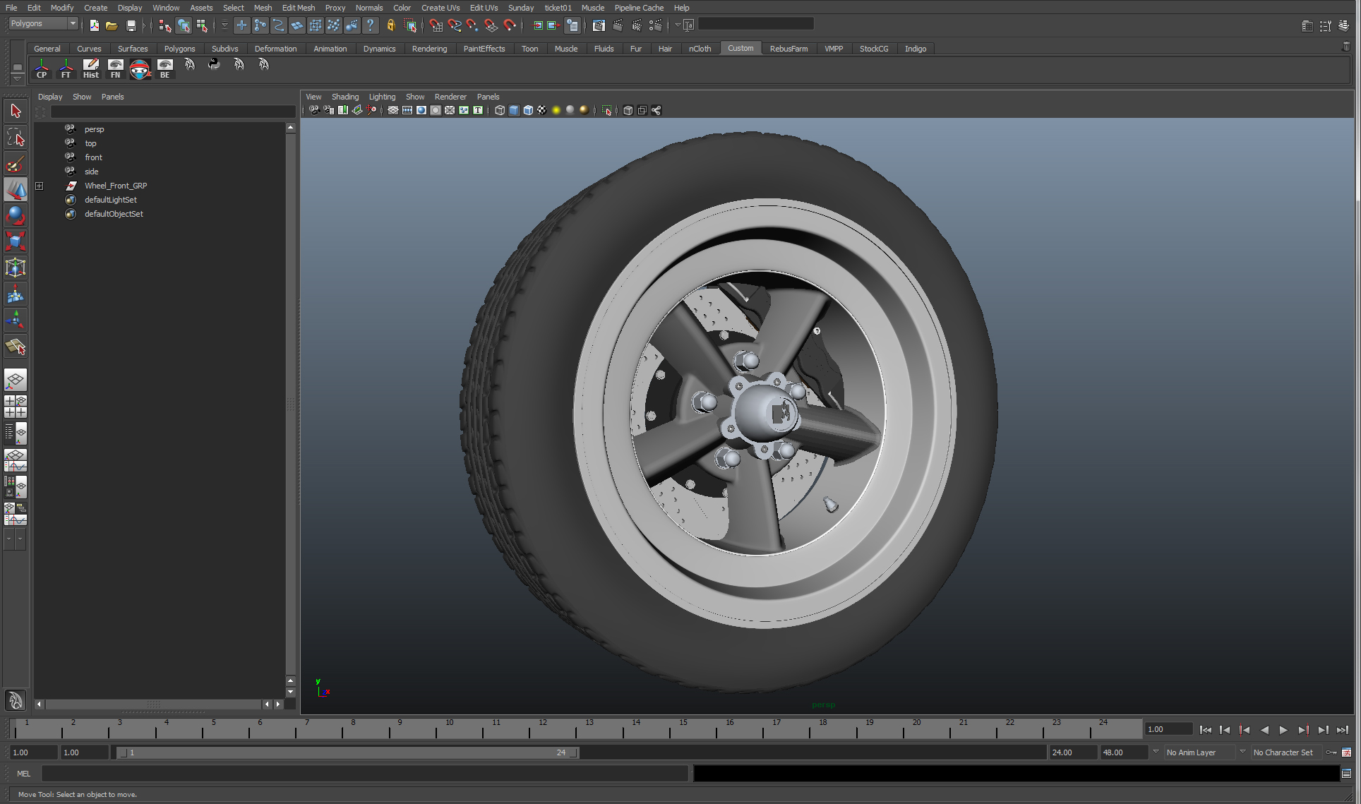 Hotrod Wheel