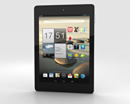 Acer Iconia Tab A1-810 Black 3D model