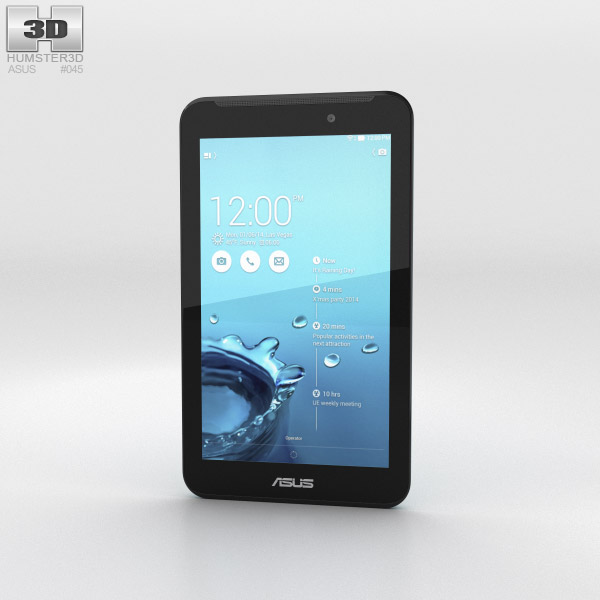 Asus Fonepad 7 (FE170CG) Blue 3d model