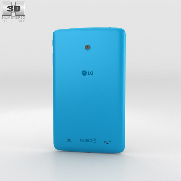LG G Pad 8.0 Luminous Blue 3d model
