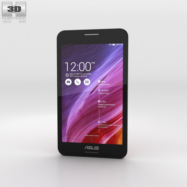 Asus Fonepad 7 (FE375CG) Red 3d model
