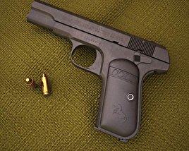 Colt Model 1903 Pocket Hammerless 3D model