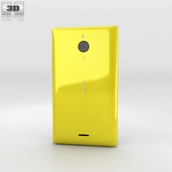 Nokia X2 Yellow 3d model