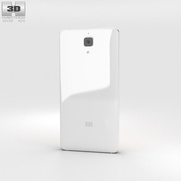 Xiaomi MI 4 White 3d model