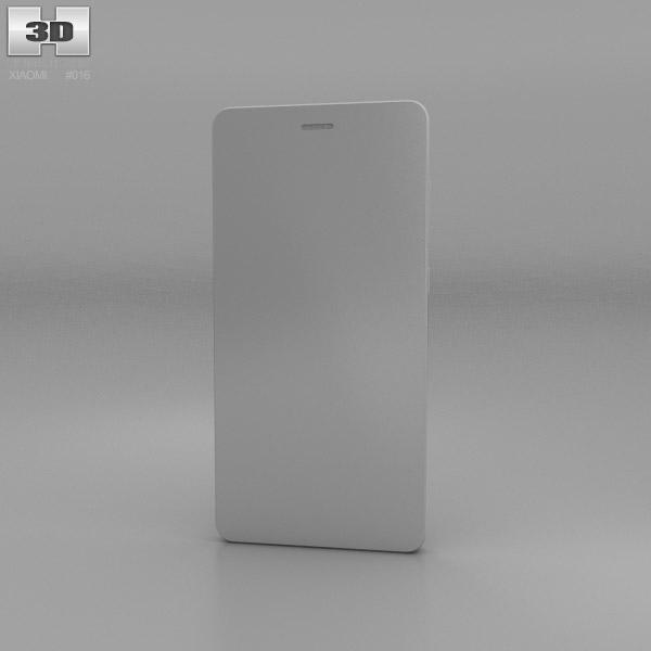 Xiaomi Mi4 White Xiaomi MI 4 White 3D m...