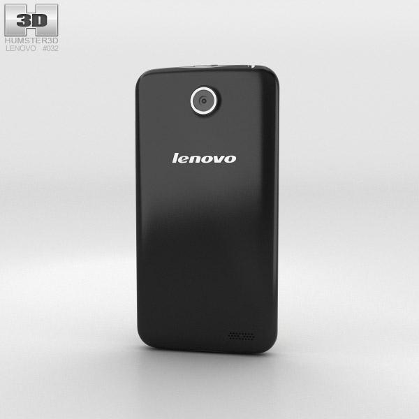 Lenovo A516 Black 3d model